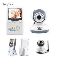 babykam bebek telsizi baby camera monitor 2.4 inch TFT LCD IR Night Vision 2 way Talk Zoom Batteries bebek telsizleri baby radio