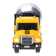 Baby Alloy Engineering Toy Car Mini Car Truck Educational Children Vehicles Tool 1:65 Six Wheels Dump Toy Truck Tipping Wagon