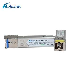Image 3 - Livraison Gratuite! LC/SC 1G fibre simple WDM 1000BASE BX 1.25G 1310nm/1550nm 3km DOM BiDi SFP