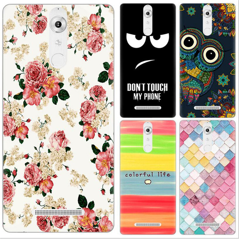 Silicon Phone Bag Case For Leagoo T1 Case Colorful Painted Cartoon Animals Soft TPU Full Cover For Leagoo T 1 Pudding Caus (L102