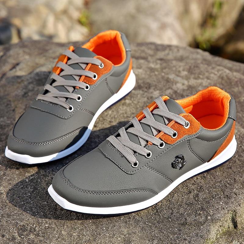 Mens sneakers lace up PU Suede upper durable color sole fashion shoe романко в курс разностных уравнений