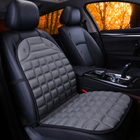 Dewtreetali Universal Front Car Seat Cover Cushion Plaid Seat Protector Thermal Warm Winter Household Cushion Pad