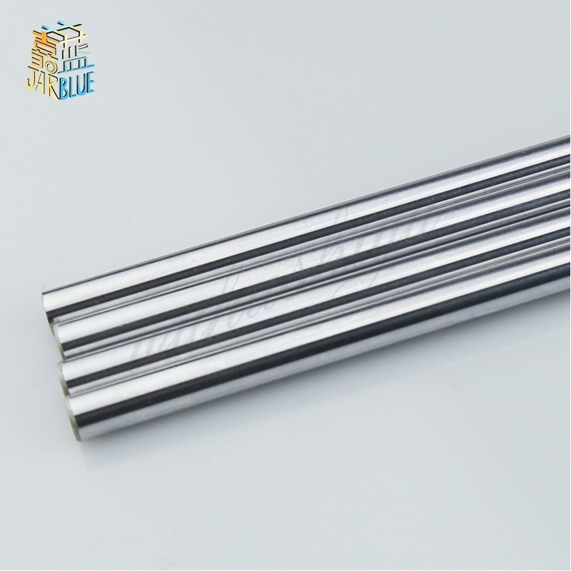 Optical Axis 300 320 350 380 400 450 500mm Smooth Rods 5/8/10mm Linear Shaft Rail 3D Printers Parts Chrome Plated Guide Slide