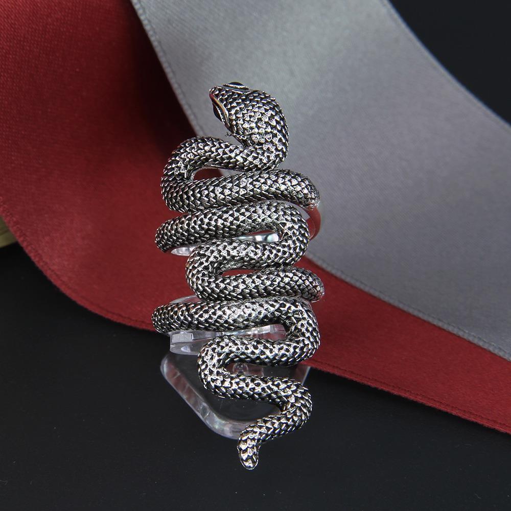 HTB1na3FMpXXXXaKXpXXq6xXFXXXX - FREE SHIPPING Winding Snake Eternity Ring JKP135