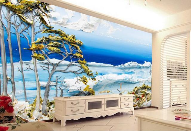 Luxe behang aanpassen d foto behang kamer mural schilderen de