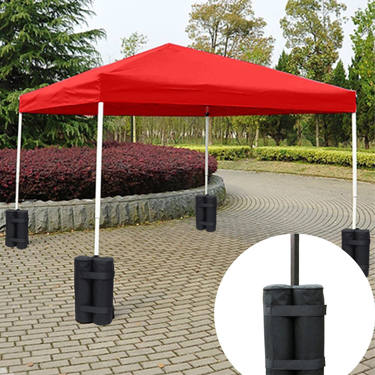 Heavy Duty Double-Stitched Weights Bag Leg For Pop Up Canopy Tent Weighted Feet Bag Sand Bag Instant Outdoor Sun Shelter
