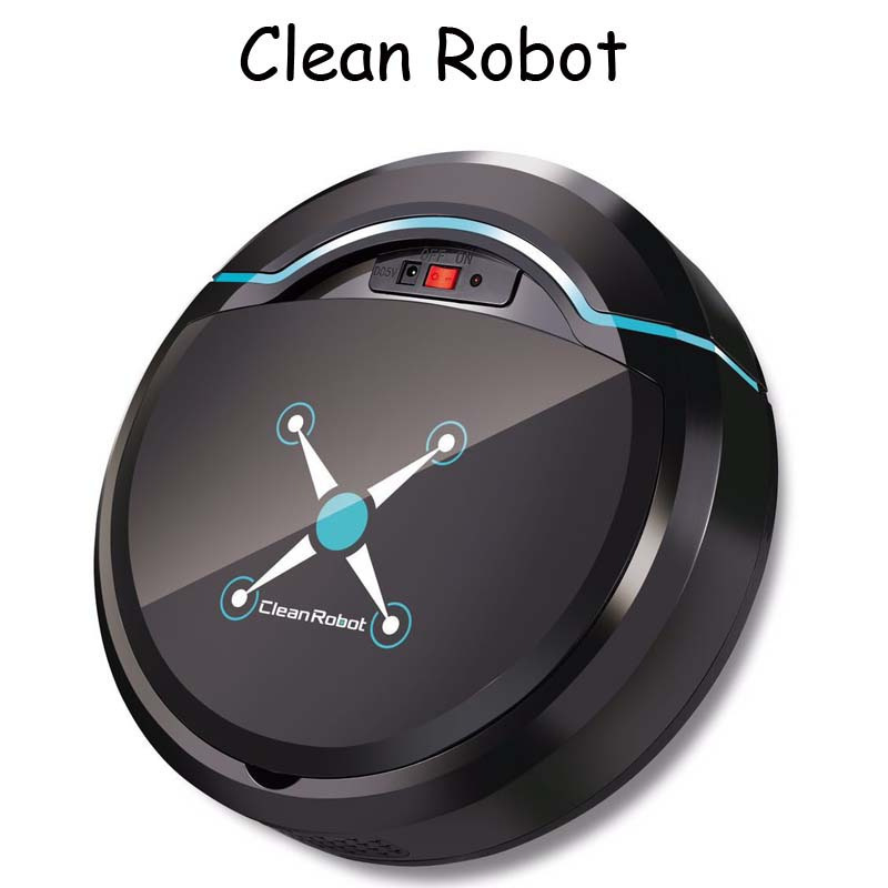 Robot Vacuum-Cleaners Dust-Hair Floor Electric Rechargeable for Home Dirt