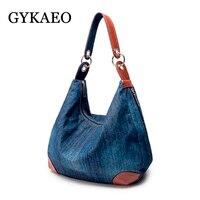 Gykaeo Large Capacity Tote Bags Handbags Women Famous Brands Female Casual Shopping Street Crossbody Shoulder Bag