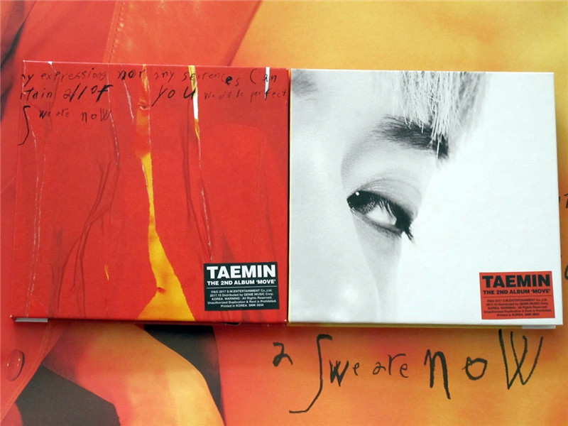 US $89 99  signed SHINEE Lee Taemin autographed mini2nd album Move K POP  102017-in Cards & Invitations from Home & Garden on Aliexpress com    Alibaba