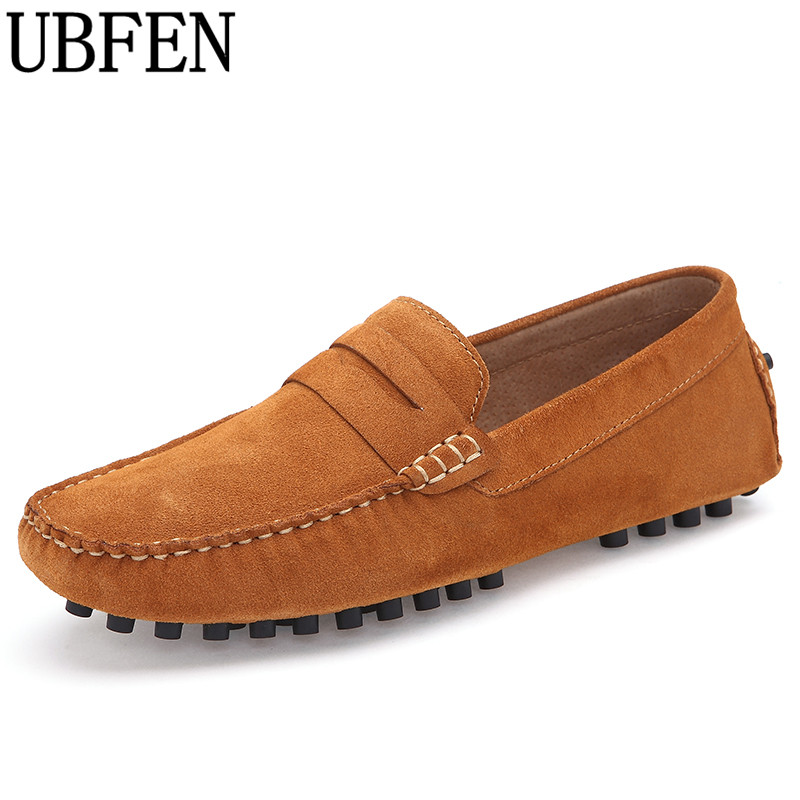 UBFEN 2017 New Fashion Casual Shoes For Men Comfortable And Soft Male Loafers High Quality Slip-on Flats Driving Shoes new casual men shoes loafers high quality faux suede leather fashion breathable male slip on light shoes men flats soft shoes