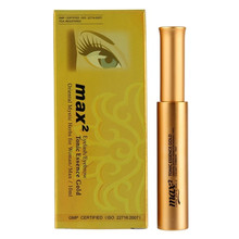 BEAUTY7 MAX2 Eyelash Growth Treatments Eyelashes Extension After Care Tonic Essence Gold 10ml bottle Eye Lash