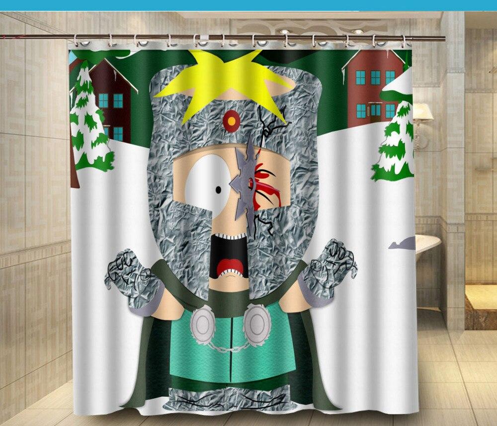 south park Custom Shower Curtain