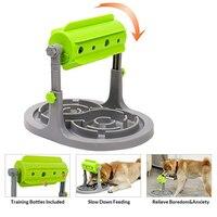 New Dog Food Feeder Toys Dispenser Slow Food Feeder Bowl Treats Dog Interactive Feeding Toys Kitten Small Cat Pet Healthy