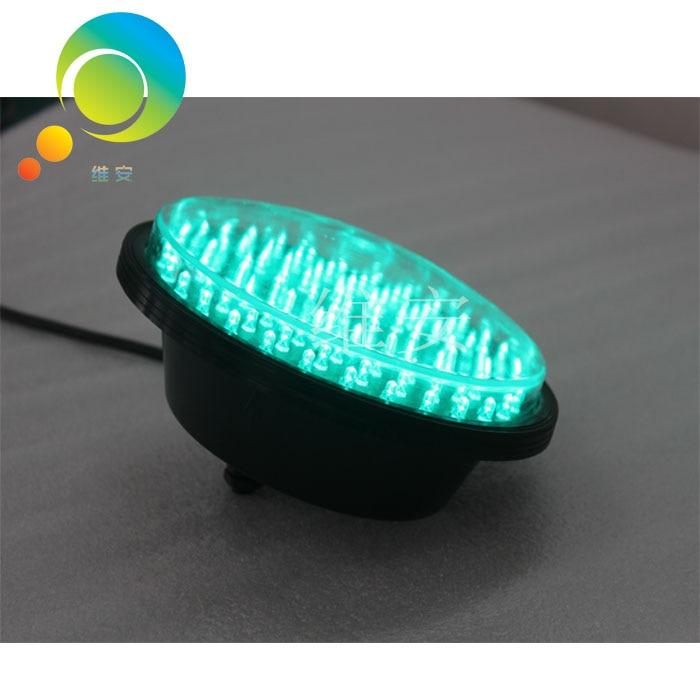 DC12V Or DC24V Factory Price 200mm Green LED Module Bright Signal Traffic Light Lamp