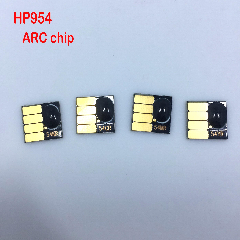 Conjunto 1 954XL YOTAT cartucho chip para HP 954 chip de ARCO para HP OfficeJet Pro 8702 7720 7730 7740 8210 8218 8710 8720 8730
