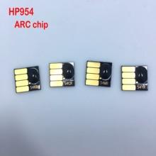 YOTAT 1set 954XL cartridge chip for HP 954 ARC chip for HP OfficeJet Pro 8702 7720 7730 7740 8210 8218 8710 8720 8730 casio часы casio ba 110sn 3a коллекция baby g
