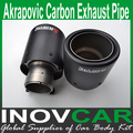 Inlet 63mm to Outlet 101mm Akrapovic Carbon Exhaust Tip, Escape Akrapovic Muffler Tip