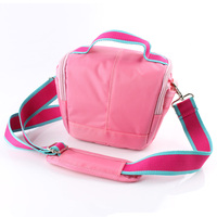 Free Shipping Pink Waterproof Camera Case Bag For Canon EOS M3 M2 M SX60 SX50 100D