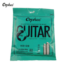 Orphee Electric Bass Guitar Strings Hexagonal Steel Nickel Alloy Wire Durable Vigorous Tone 5 Accessories