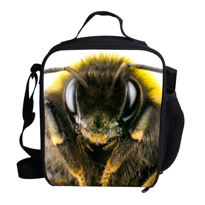 Gepäck & Taschen Geschickt Neue Stil Animal Print Mittagessen Taschen Für Kinder Jungen Mädchen Humblebee Muster Personalisierte Kühltasche Für Schulkinder Um Jeden Preis