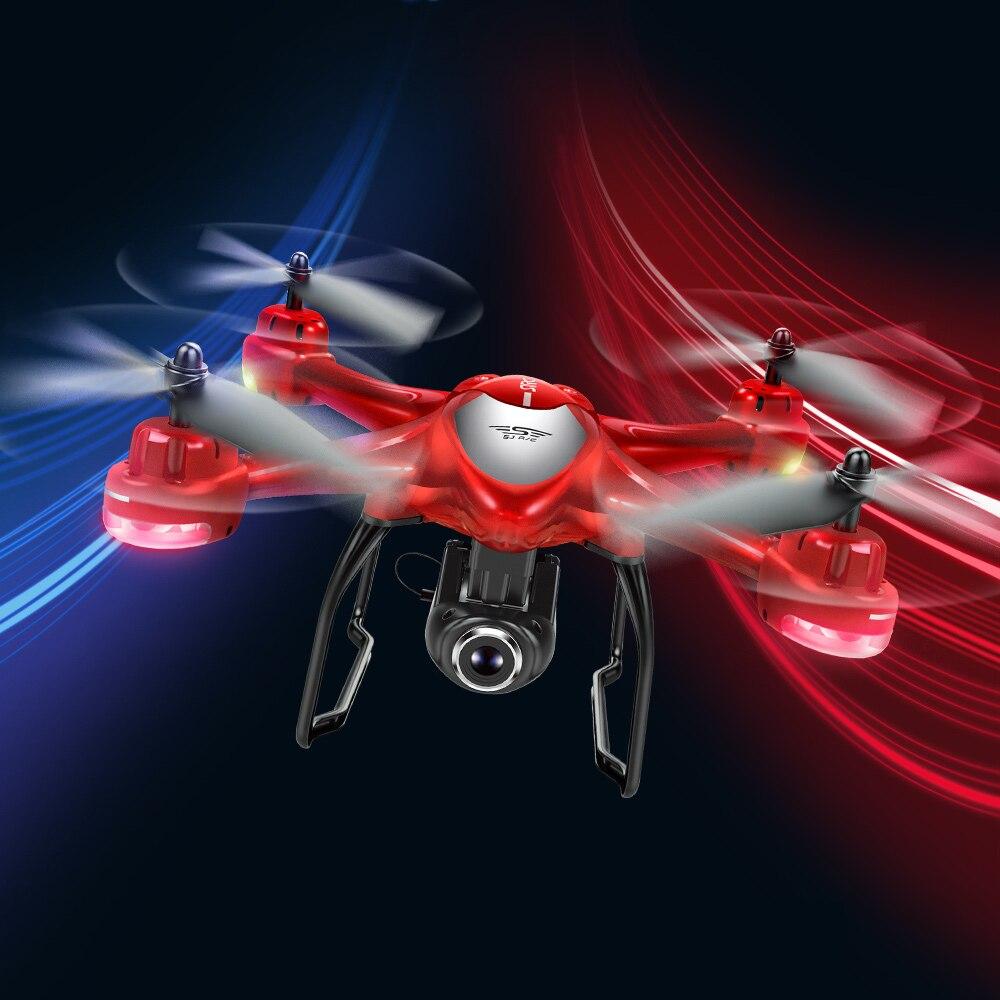 RC Drone avec Caméra S30W 1080 p 5g Grand Angle Caméras GPS Positionnement Wifi FPV Maintien D'altitude RC Formation quadricoptères