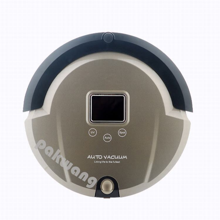Thin Body 4 IN 1 Robot Vacuum Cleaner LCD Screen Large Battery Intelligent Fullgo A320 Desktop Vacuum Cleaner