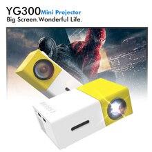 YG-300 YG300 LED Портативный HD проектор 400-600LM 3.5 мм аудио 320×240 Пиксели HDMI USB Мини проектор Главная Театр медиаплеер
