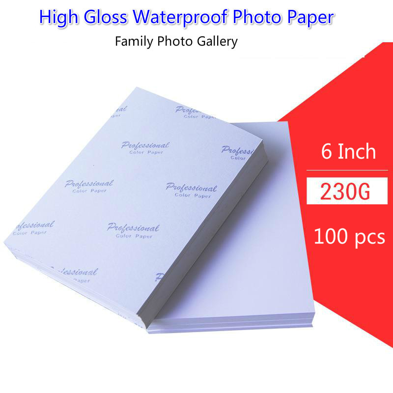 A5 3R 4R 5R A3 A4 200sheets Photographic Paper Glossy Printing Paper Printer Photo Paper Color Printing Coated For Home Printing