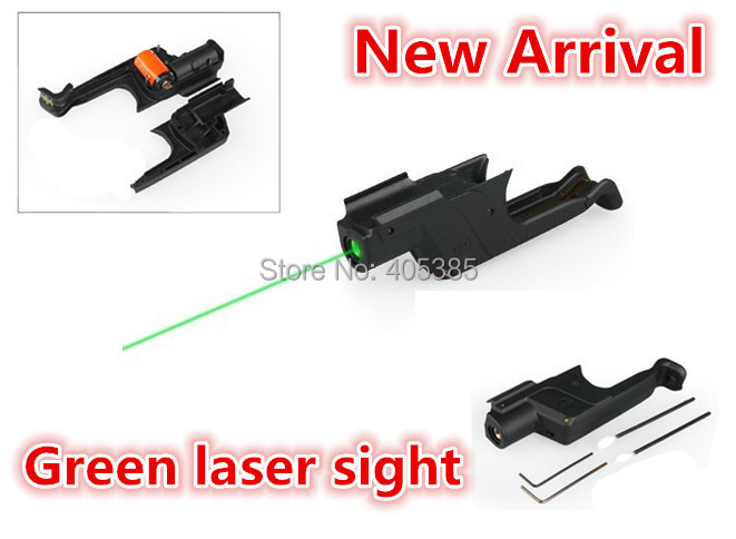 ФОТО Hot Sale Front Activation Green Laser Sight Air Gun Pistol Rifle Laser For Hunting