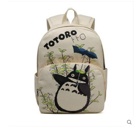 цена Anime Tonari no Totoro Cosplay Student campus casual men and women backpack large capacity travel backpack