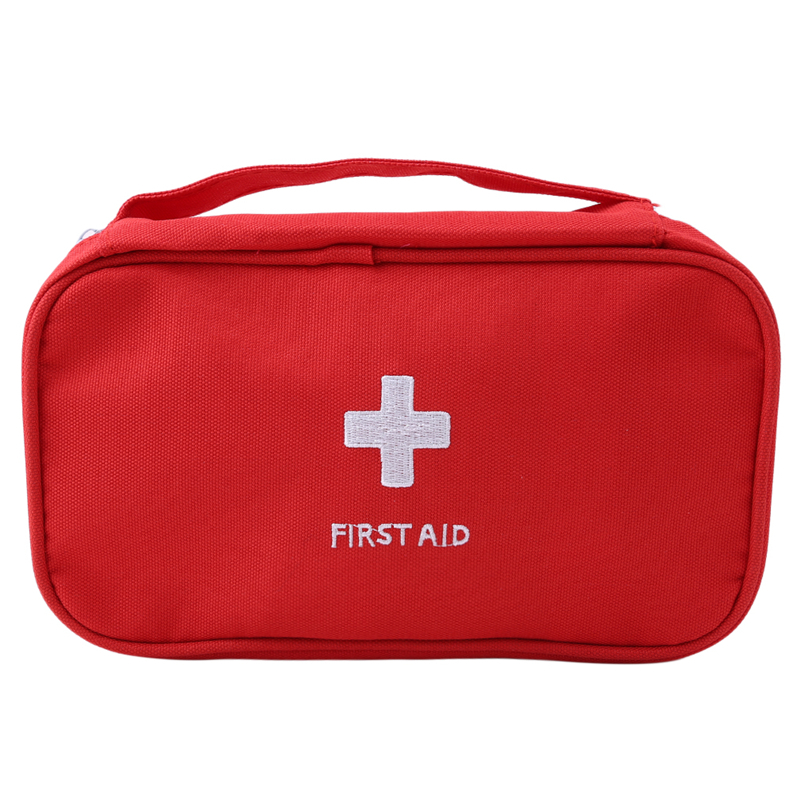Portable First Aid Emergency Medical Kit Survival Bag Empty Medicine Storage Bag Travel Outdoor Sport Camping Tool