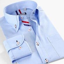 Smartfive, мужская рубашка, хлопок, повседневные рубашки, белая, Camisa Masculina, с длинным рукавом, рубашка для мужчин, Лето, новинка, SFL4K62