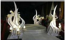 цена на New cherry blossom road wedding simulation cherry tree iron frame cherry tree wedding props decoration teng.