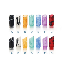 Sailing electronic cigarette 510 acrylic drip tips bevel style for 510 thread tank RTA atomizer