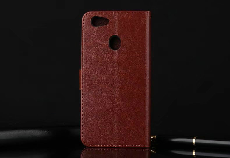 new arrival c5bf8 0d3af US $3.99 20% OFF|High Quality Flip Leather Cover Case For OPPO F5 / F5  Youth/ A73 (6.0inch) Vintage Wallet Cover and Card Holder +Strap LeY2-in  Wallet ...