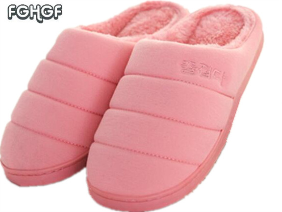 Korean House Slippers Women Home Slippers Warm Shoes Soft Indoor Pantufas Plush bedroom Lovers Zapatillas Casa Mujer Chaussons plush winter slippers indoor animal emoji furry house home with fur flip flops women fluffy rihanna slides fenty shoes
