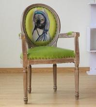 Real wood dining chair European leisure chair. Creative nail chair. Armchair real wood dining chair european leisure chair creative nail chair armchair
