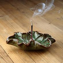 Pure hand-made variety of delicate Lotus incense dish/incense suited Japan cone incense/aroma