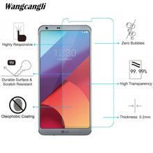 Wangcangli Screen Protector For LG K11 Tempered Glass 9H Protective glass Cell Phone 2.5D Anti-fall