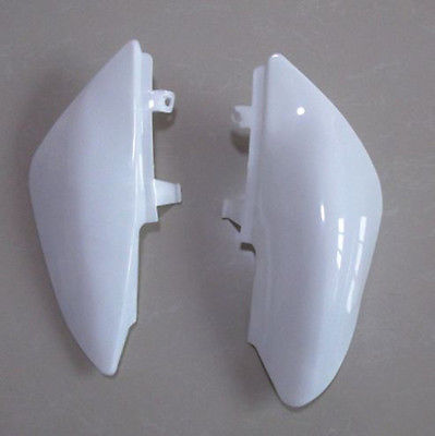 White Plastic Kit Fender For Honda CRF50 XR50 Kawasaki Yamaha Suzuki Dirt Pit Bike Motorcycle front plastic number plate fender cover fairing for honda crf100 crf80 crf70 xr100 xr80 xr70 style dirt pit bike