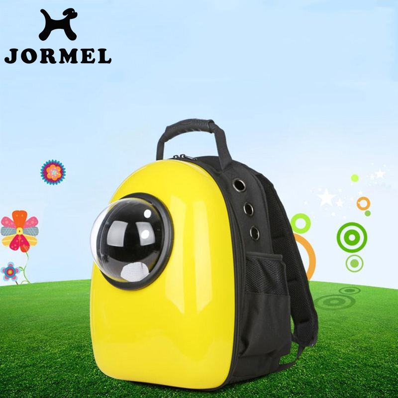 JORMEL Pet Supplies Space Capsule Cat Backpack Bubble Window Kitty Puppy Chihuahua Small Dog Carrier Crate Outdoor Travel Bag
