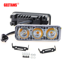 GEETANS Universal Daytime Running Light 9W Waterproof DC 12V Car Styling Light Source Auto Lamp Brake