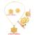 Ethlyn Gran Flor Chapado En Oro Joyas De Etiopía conjunto Colgante/Pendiente/Del Anillo/Joyería Del Brazalete de la Boda Africana de Eritrea Habesha S037
