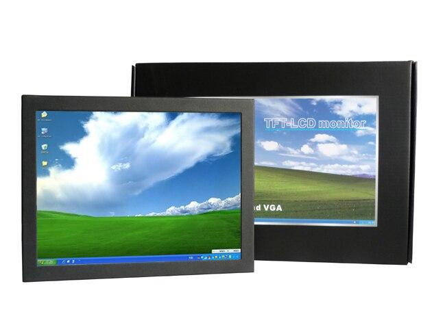 10 дюймов малый сенсорный экран открытой рамки сенсорный монитор с 450cd / m2