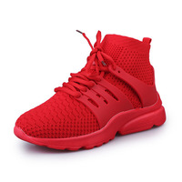 2018 Women Sports Shoes Lace Up Mesh Women Sneakers Breathable Trainers Walking Ladies Flats Boots Shoes
