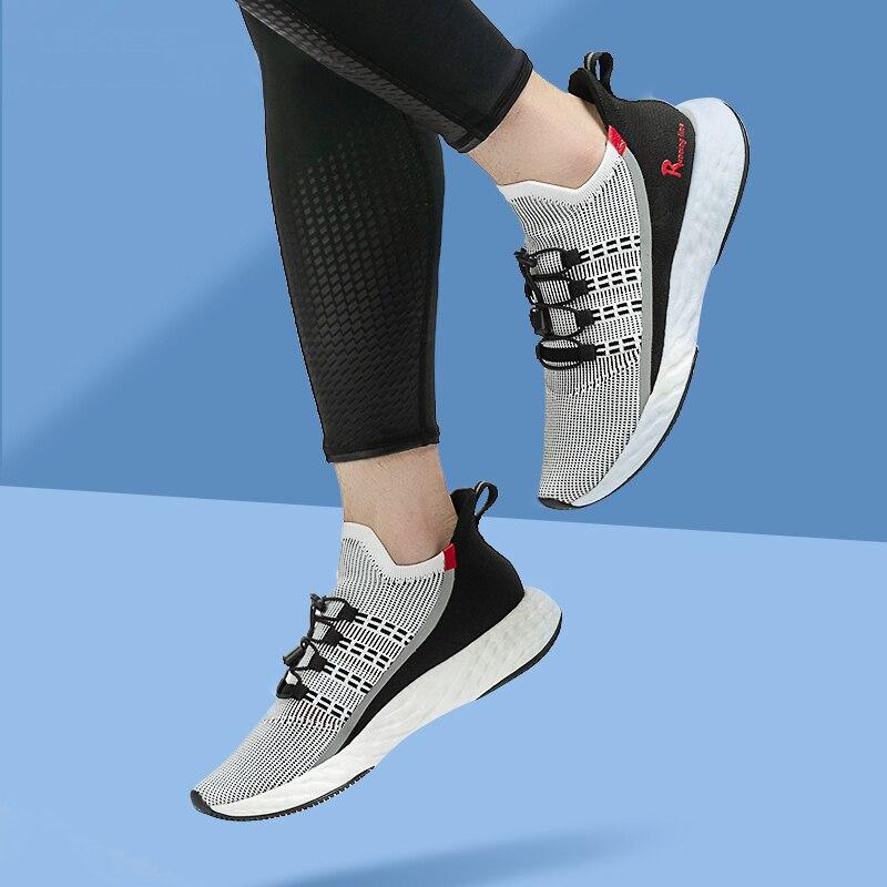 Image 5 - ONEMIX 2020 Vulcanize Tennis Shoes Men Sneakers Summer Trainers  Lightweight Reflective Outdoor Sports Casual Trekking ShoesTennis  Shoes