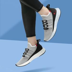 Image 5 - Onemix 2020 加硫テニスシューズ男性スニーカー夏トレーナー軽量反射屋外スポーツカジュアルトレッキング靴