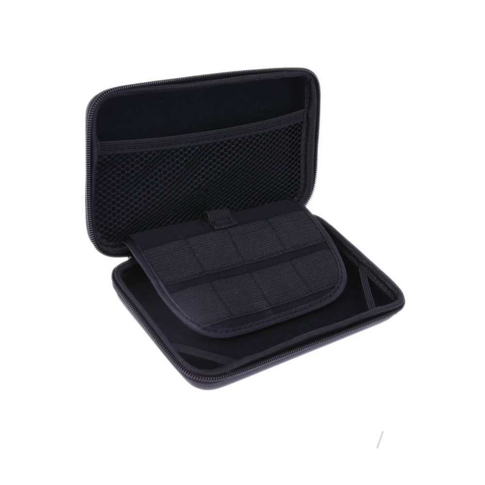 1pcs EVA Carrying Case Bag for New 3DS XL LL for Nintendo Pouch Hard Bags with Strap Blue Black Red