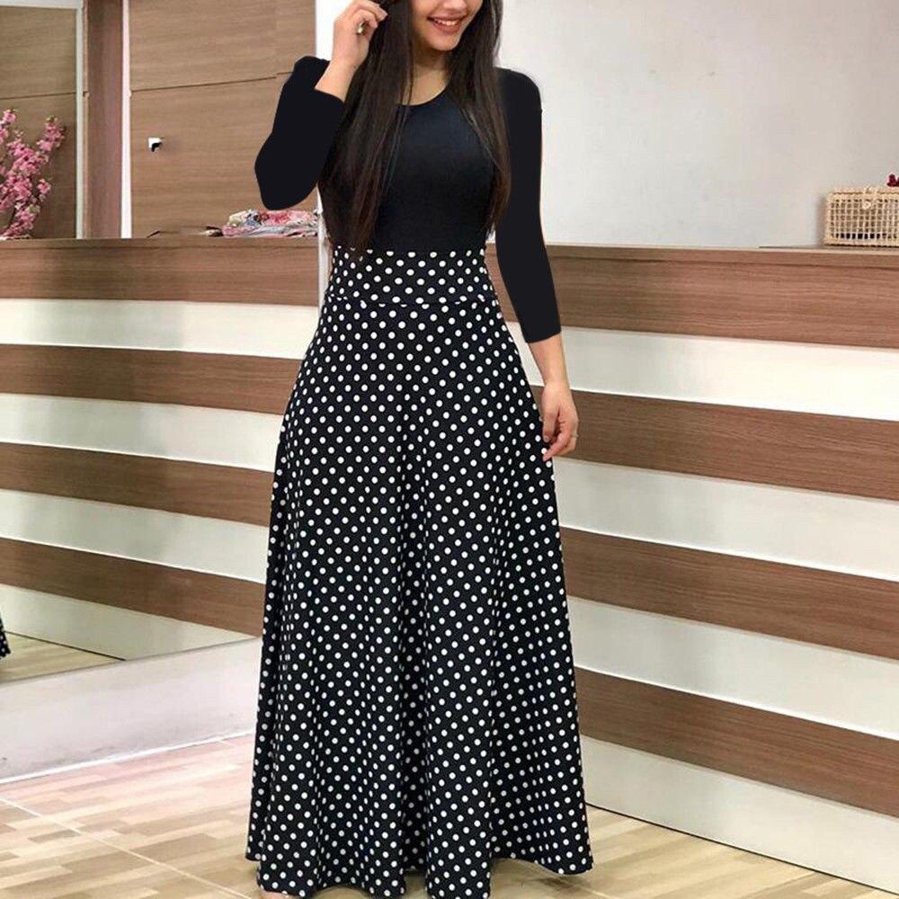Maxi Dress Ladies Casual Dress