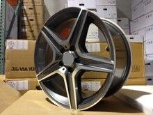 4 Новый 17×8.0 Колесные Диски W814 et 35 мм CB 66.6 мм Диски из легкого металла для BENZ